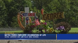 Memorial service held for Shelby Park Golf Course employee killed in parking lot