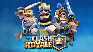 First video clash Royale and lost all matches