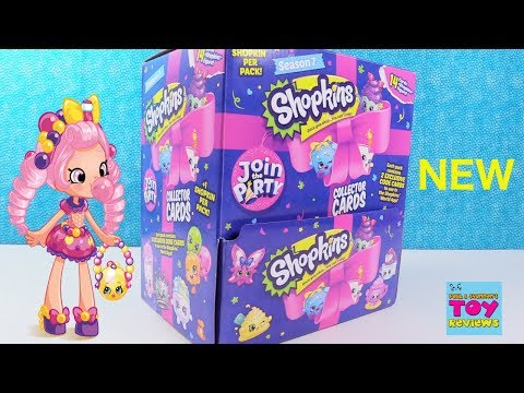 New Shopkins Collector Cards Season 7 Limited Edition Found Toy Review   PSToyReviews