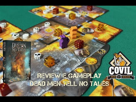 Covil dos Jogos - Review e Gameplay Dead Men Tell No Tales