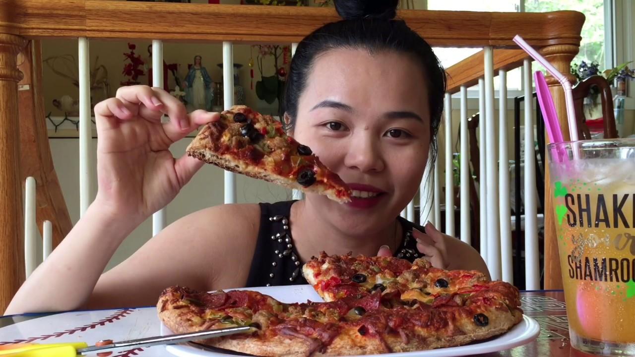 Bánh piza đông lạnh ngon như bánh mua ở tiệm – Food usa – Kim Minh vlog