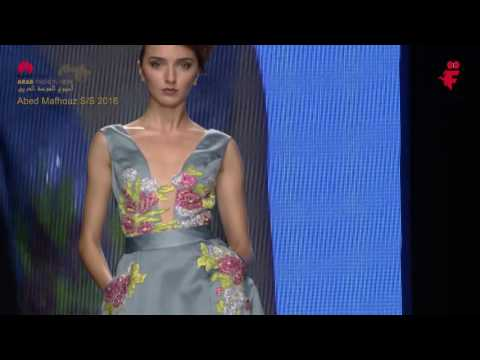 Abed Mahfouz S\S 2016 - Arab Fashion Week