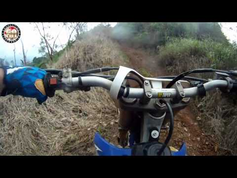 Dirt Biking Costa Rica on a YZ450f - 2nd Day