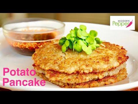 Korean Potato Pancakes (Gamjajeon: 감자전) Recipe + Tasting Show/Mukbang - Ep. #62