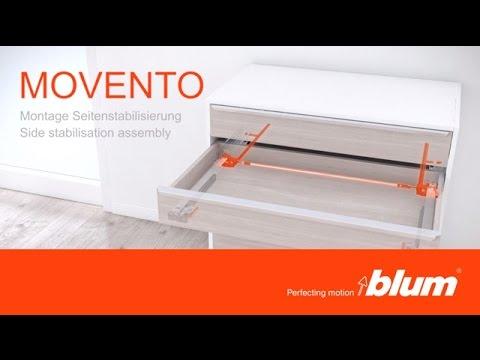 Sistema di guide Blum MOVENTO - presentazione e montaggio ...