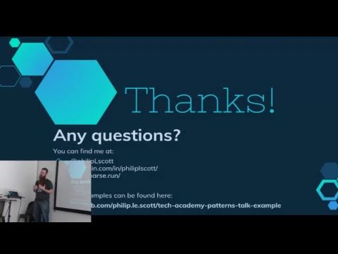Tech Talk with Philip Scott: Reusable Coding and Design Patterns