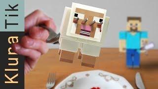 MINECRAFT STEVE FOR DINNER!!                               -  รับประทาน - มายคราฟ