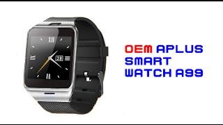 ร ว ว oem aplus smart watch a99 นาฬ กาล ำสม ย