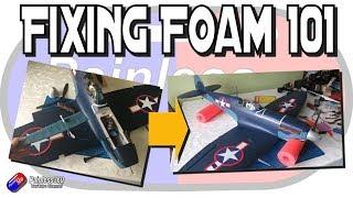 Fixing foam