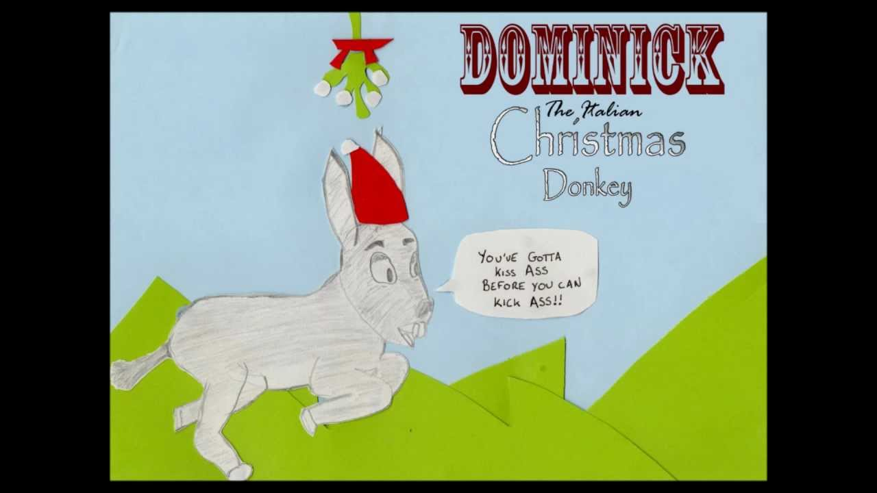 dominick the italian christmas donkey(alvin chipmunks) - YouTube