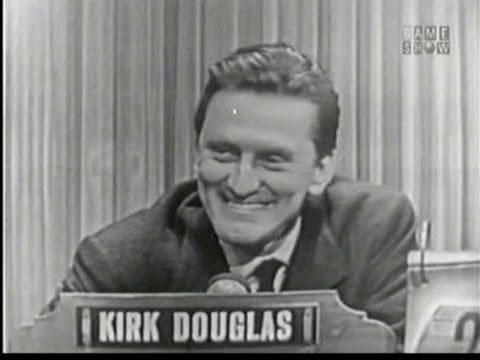 What's My Line?  Kirk Douglas; Peter Lind Hayes panel Dec 20, 1953