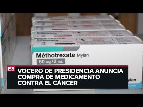 Llega a México el metotrexato, medicamento contra el cáncer