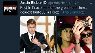 Justin Bieber Berduka Untuk Julia Perez (Jupe)