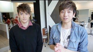 EXO-M Lu Han - Hairstyling Tutorial