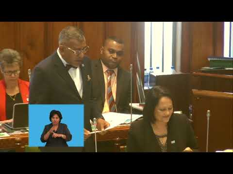 Fijian MInister for Industry response to question on Fiji's Investment Policy and Act