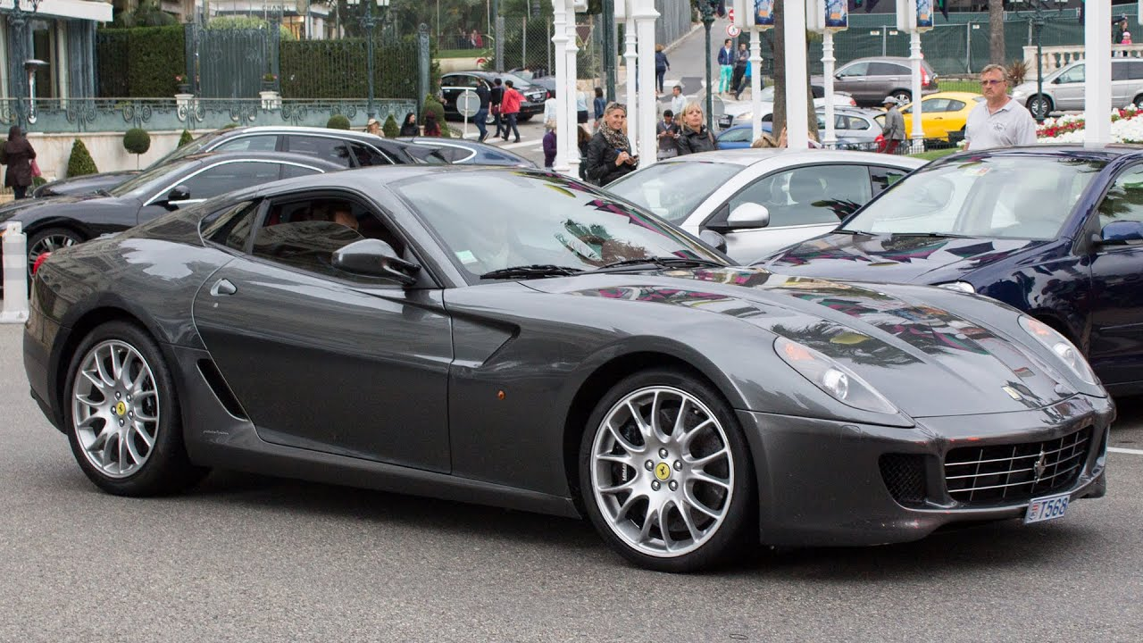 Grigio silverstone ferrari 599 gtb fiorano driving and sound 2015 hq