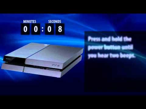 PlayStation 4 — внезапное извлечение диска