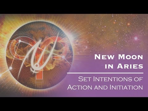 New Moon in Aries: Set Intentions of Action and Initiation