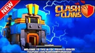 Clash of clans private server - TownHall 12 Miro clash