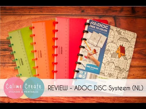 REVIEW - ADOC DISC systeem Colorlines (in Dutch)