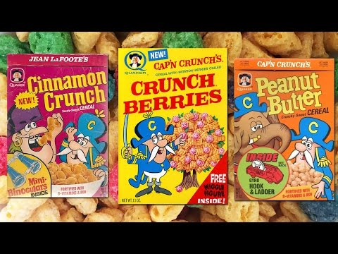 Cap'n Crunch Varieties | Cereal Time