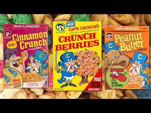 Cap'n Crunch Varieties
