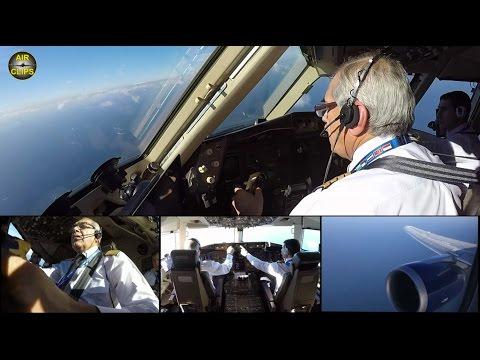 SEAK PEAK!! Stunning Preview: B767 Azerbaijan Full Flight ULTIMATE COCKPIT MOVIE! [AirClips]