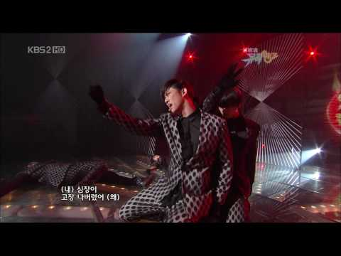 [091113] 2PM Heartbeat  Comeback Stage (HD)