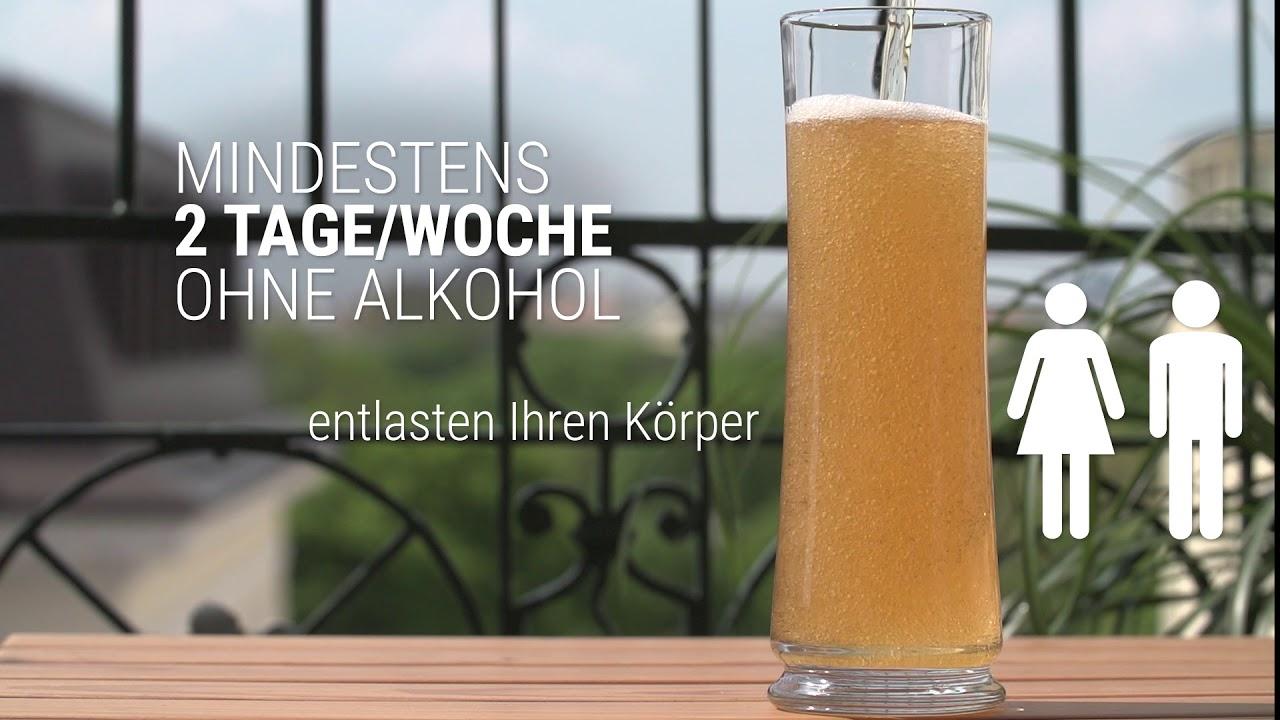 Dialogwoche Alkohol: Wie viel ist zu viel? - YouTube