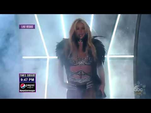Britney Spears - Work Bitch (LIVE Dick Clark's New Year's Rockin' Eve 2018)