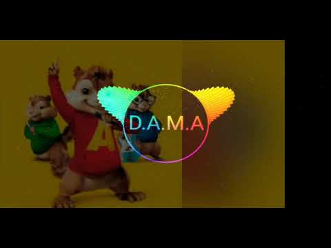 Alvin and the Squirrels singing (D.A.M.A- What goes there)