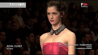 ROYAL CLOSET Highlights Spring Summer 2013 MBFW Mexico - Fashion Channel