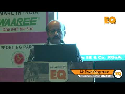 Parag Yelegaonkar, Business Development Manager – Projects, Testo  at Suryacon Pune 2018