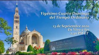 La Misa el 24º Domingo del Tiempo Ordinario