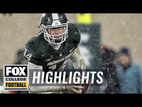 Michigan State vs Maryland  Highlights  FOX COLLEGE FOOTBALL