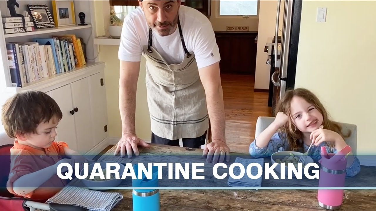 Jimmy Kimmel Shares Recipe For Pasta Tina His Kids Favorite Meal He's also dad to son kevin and daughter katherine in the pics, obtained by the daily mail, she held jane while kimmel took photos of them on the beach. jimmy kimmel shares recipe for pasta