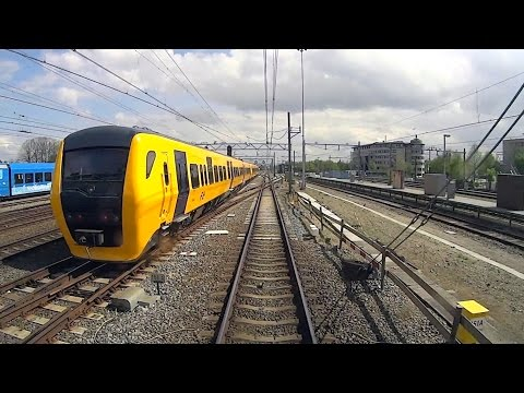 DUTCH TRAINS: ROLLING STOCK CAB VIEW parallel action compilation 2015