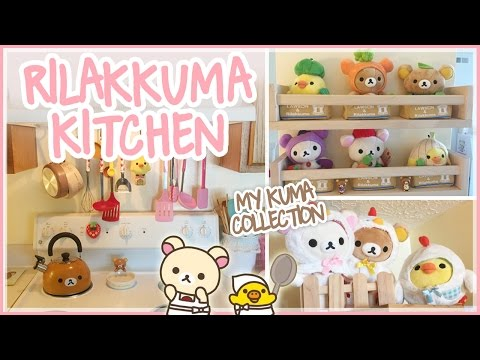 MY RILAKKUMA KITCHEN TOUR ♡ Kawaii Room Decor ♡