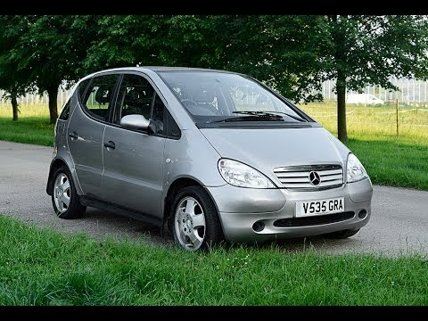 mercedes benz a160 avantgarde video review start youtube