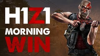 H1Z1 PS4 Gameplay | MORNING WIN