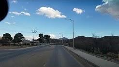 Driving into San Carlos on Rte 6