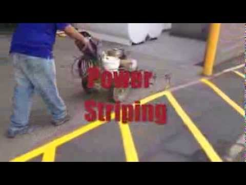 Striping Parking Lots Phoenix Arizona