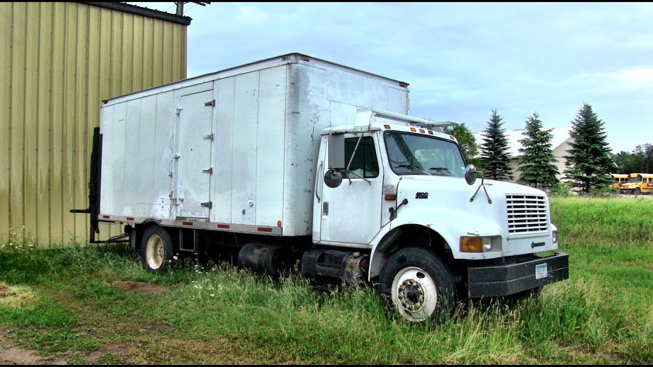Work Truck Converted Into Stealth Tiny House - YouTube