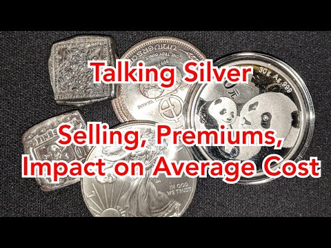 Talking Silver Premiums, Silver Bullion Prices, MK Barz Poured Silver Channel Bars & Silver Coins