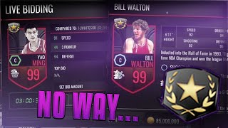 FIVE NEW 99's LEAKED! 99 ULTIMATE LEGEND AUCTION HOUSE GLITCH! NBA LIVE MOBILE EXPOSED