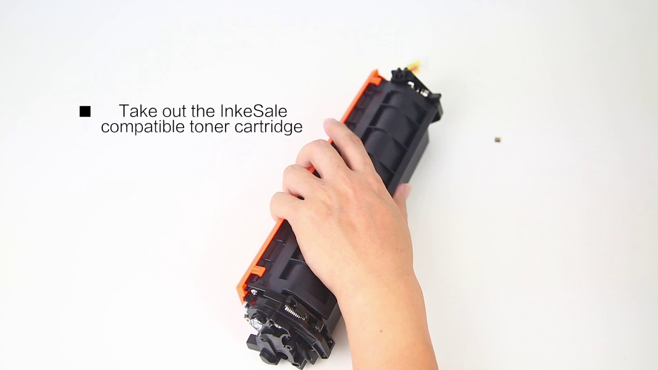How replace the reset chip for HP (17A)CF217A Toner Cartridge