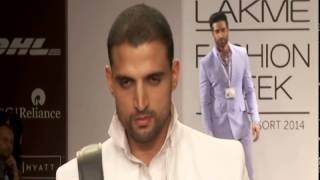 Baggit's trendy Men's collection rocks the ramp at Lakme Fashion Week! Thumbnail