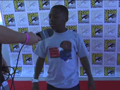 Cloudy with a Chance of Meatballs - Comic-Con 2009 Exclusive: Bobb'e J. Thompson