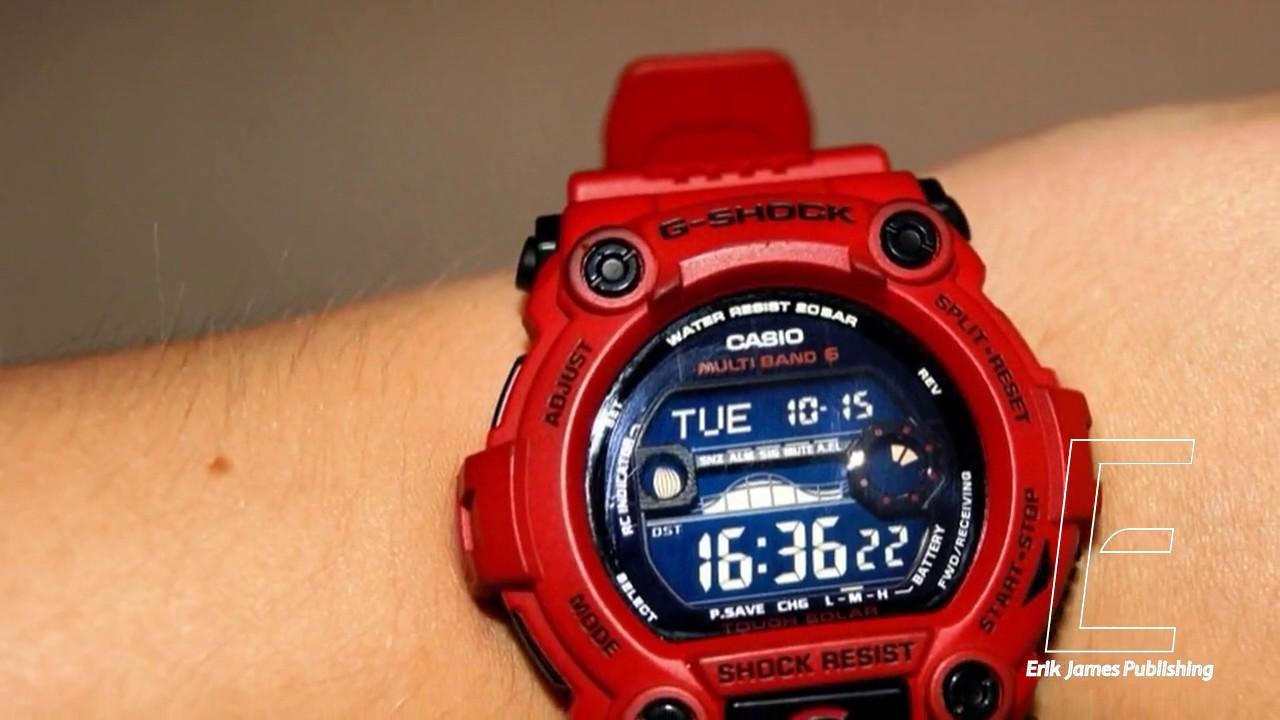 4c84b7d11578 Casio Men s G7900A-4 G-Shock Rescue Red Digital Sport Watch Rare ...