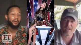 Blake Shelton, John Legend React To Ariana Grande Joining \x27The Voice\x27